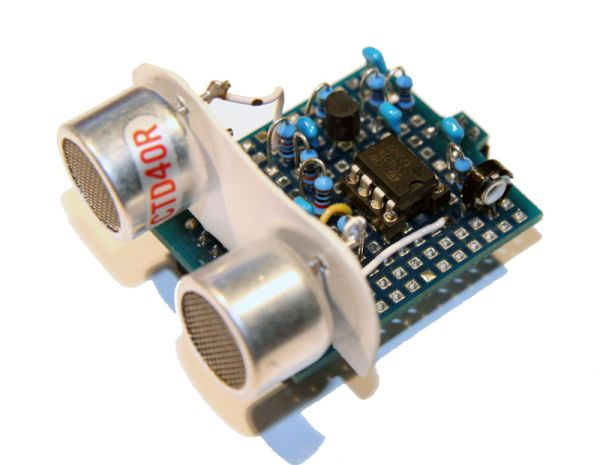Entfernungsmessung Mit Ultraschall : Asurowiki ultraschall entfernungsmesser